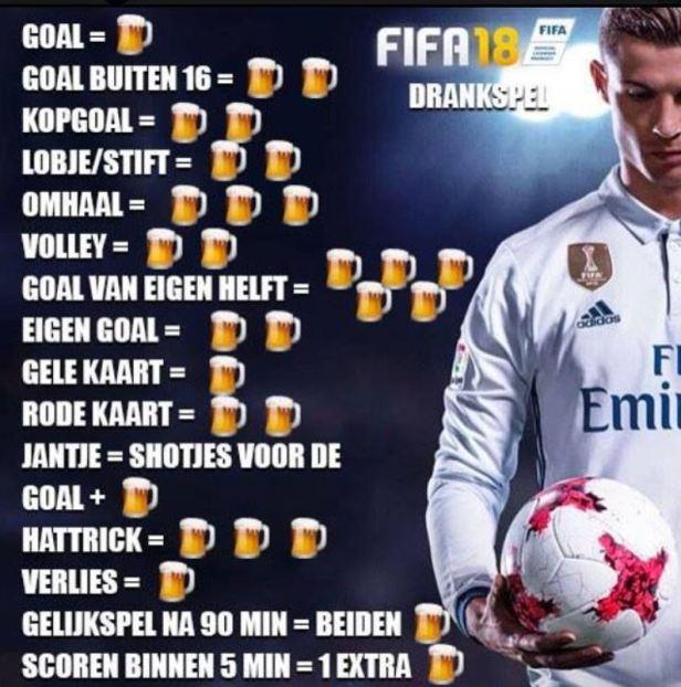 Fifa Drankspel